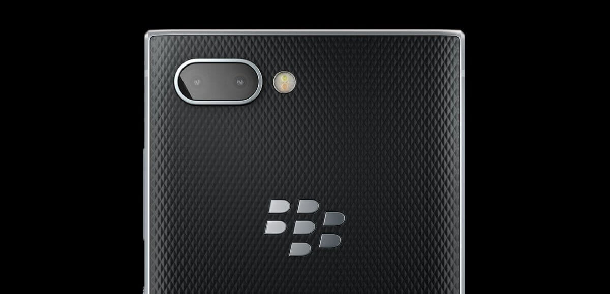 BlackBerry KEY2 detail