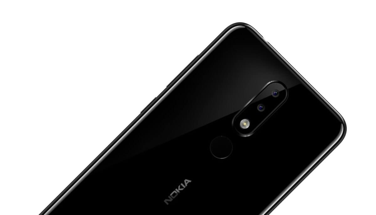 Nokia 5.1 Plus detail