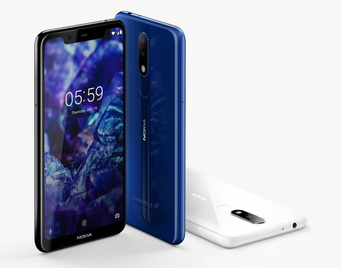 Nokia 5.1 Plus official