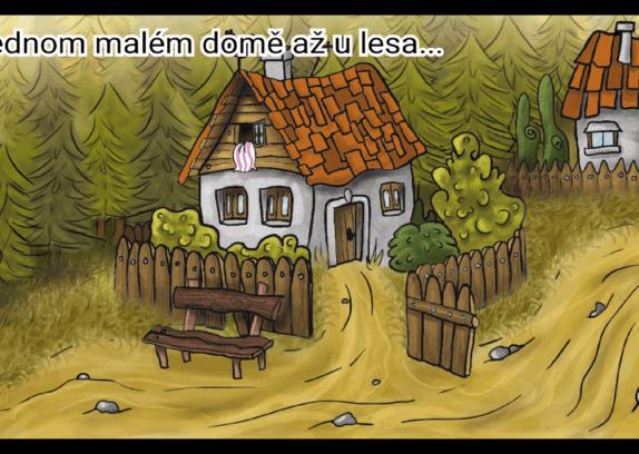 Alice: Pojišťovna pro čarodějnice - výhled z chaloupky