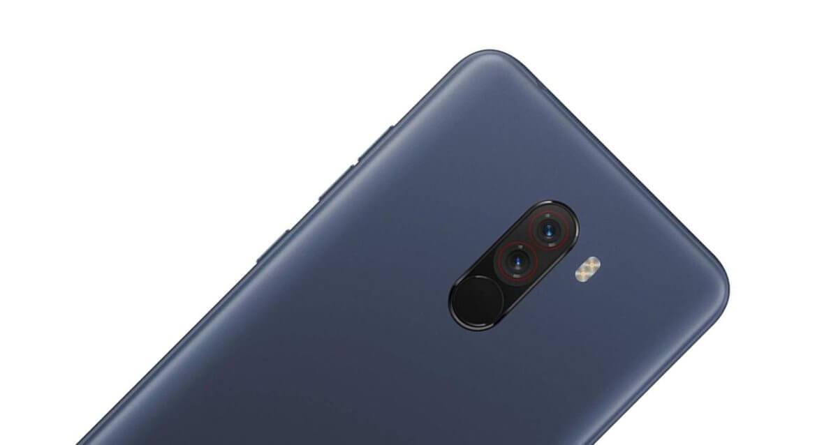 Xiaomi Pocophone F1 detail