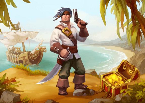 Braveland Pirate - hlavní hrdina v plné kráse