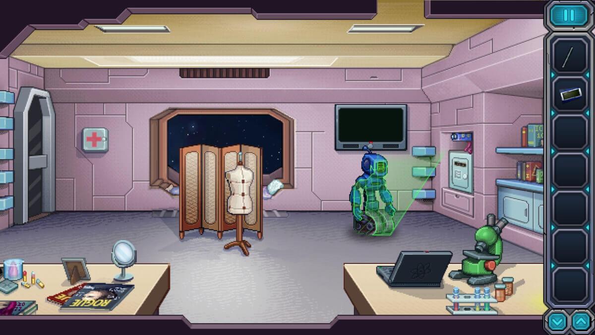 Odysseus Kosmos - a znovu robot, tentokrát v hlavní roli