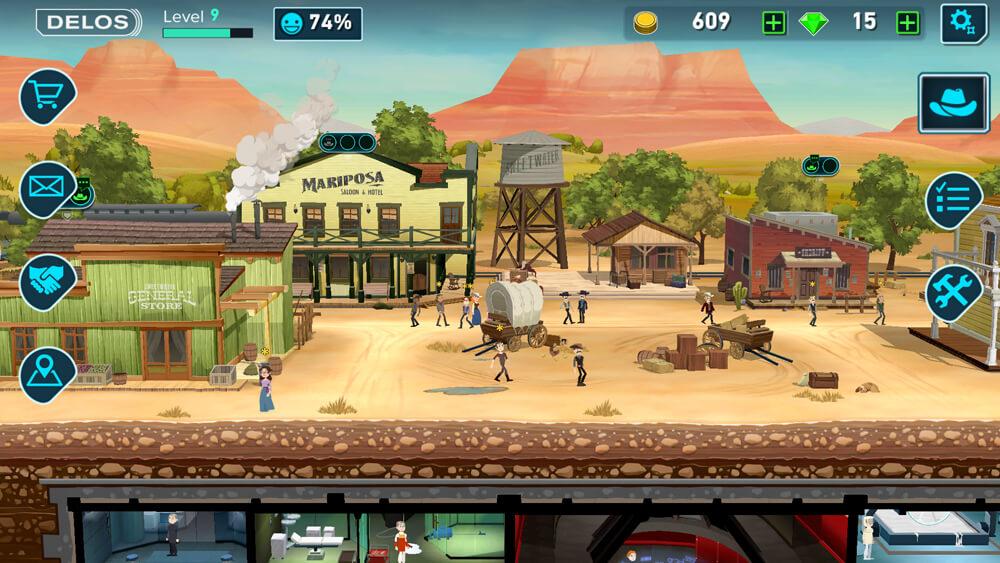 Westworld - první městečko westernového střihu