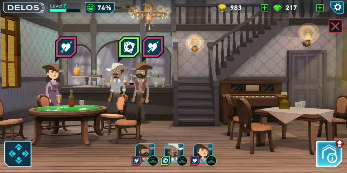 Westworld - v saloonu je vždycky rušno
