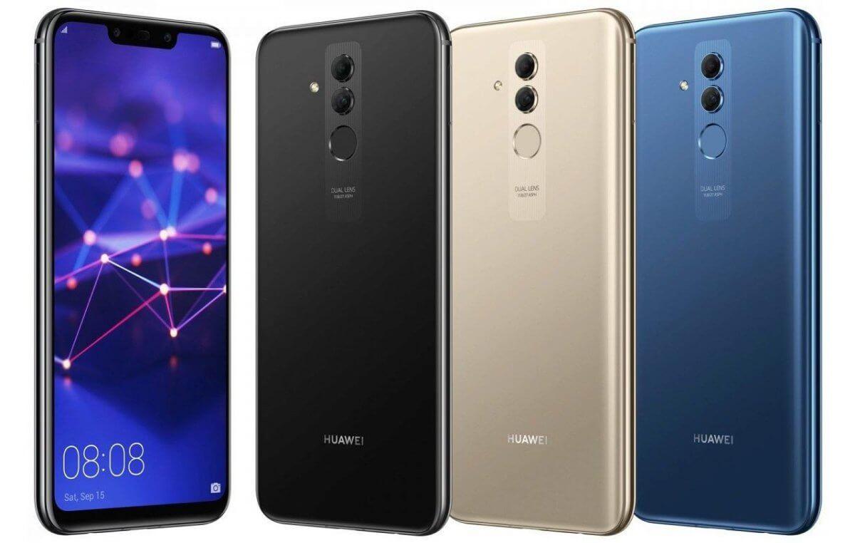 Huawei Mate 20 Lite barvy