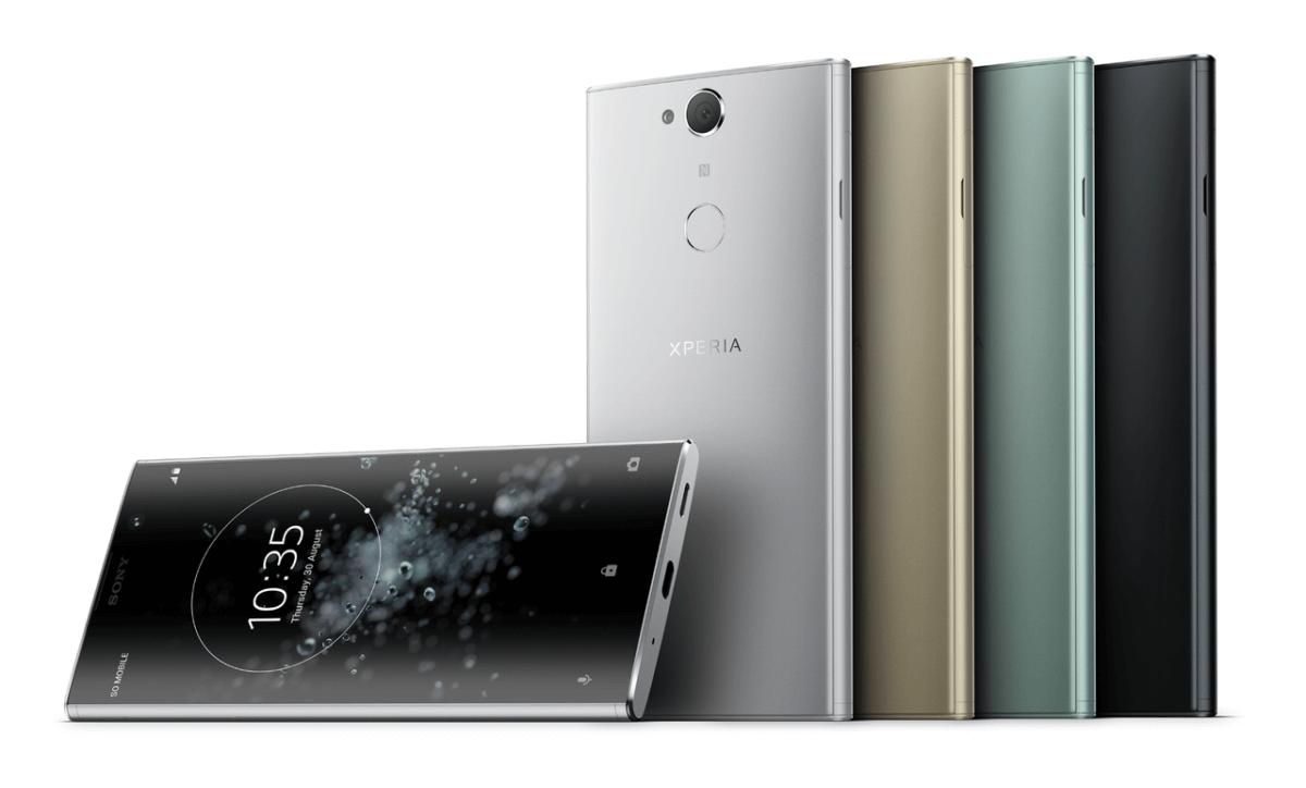 Sony Xperia XA2 Plus barvy