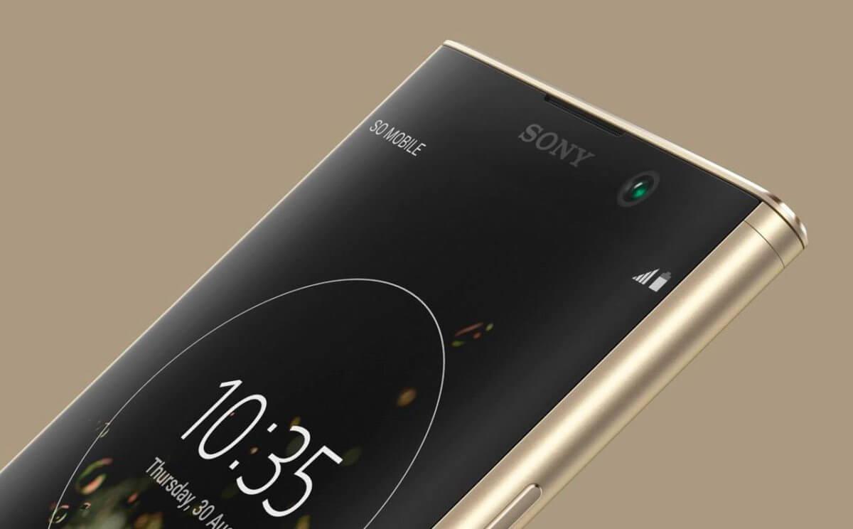 Sony Xperia XA2 Plus detail
