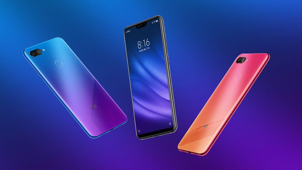 Xiaomi Mi 8 Lite barvy