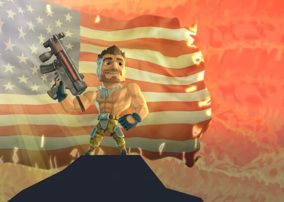 Major Mayhem 2 - akční hra viděná pohledem z boku