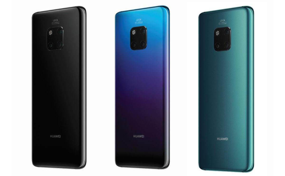 Huawei Mate 20 Pro barvy