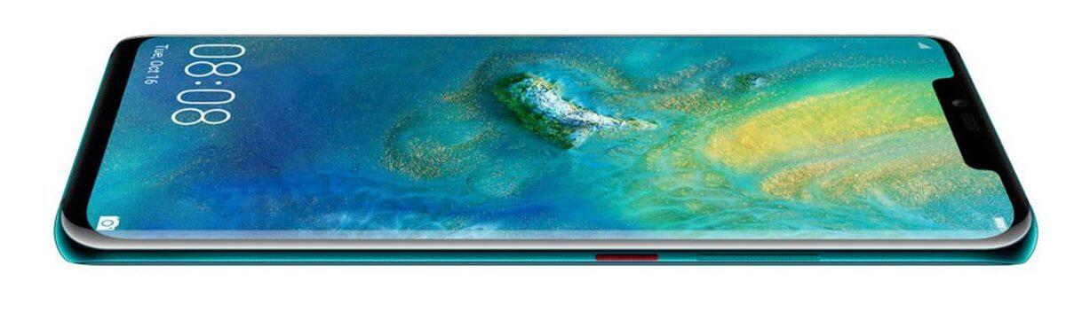 Huawei Mate 20 Pro z boku