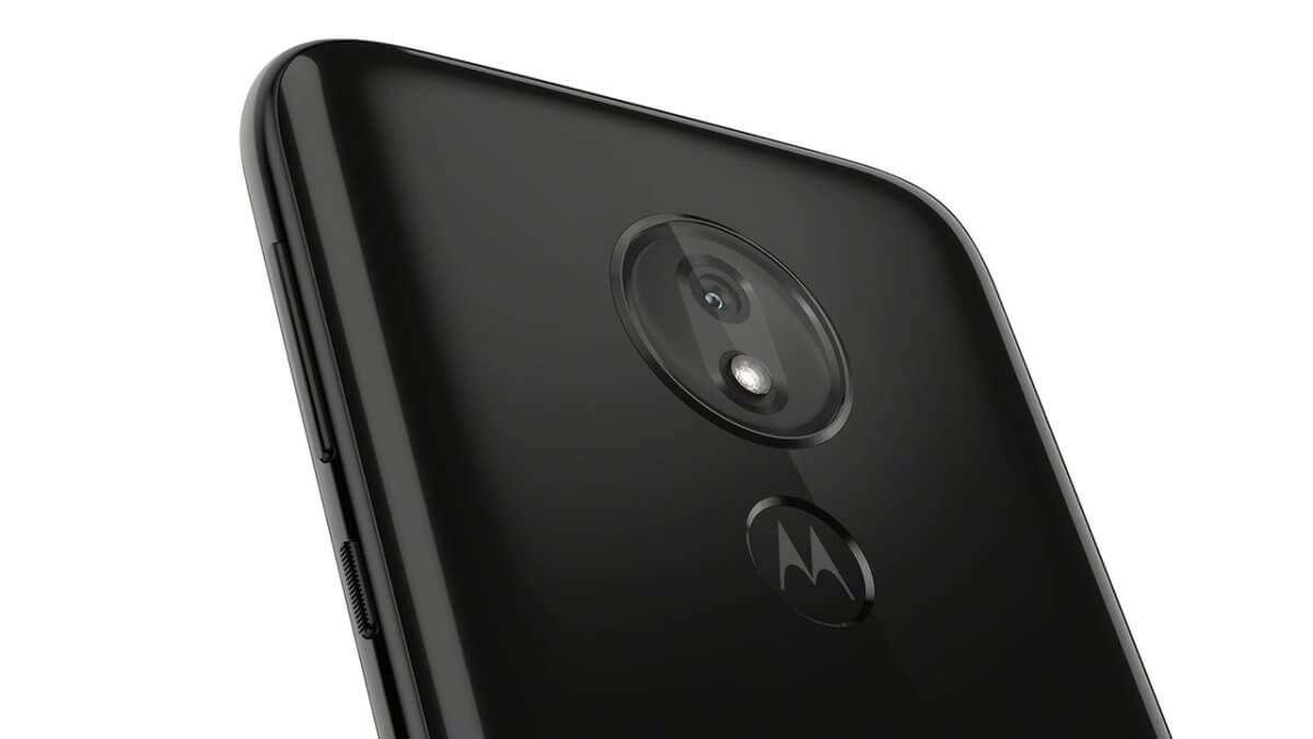 Motorola Moto G7 Power detail