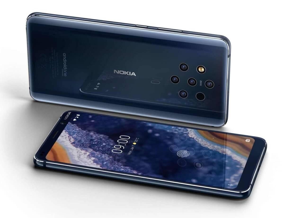 Nokia 9 PureView z boku
