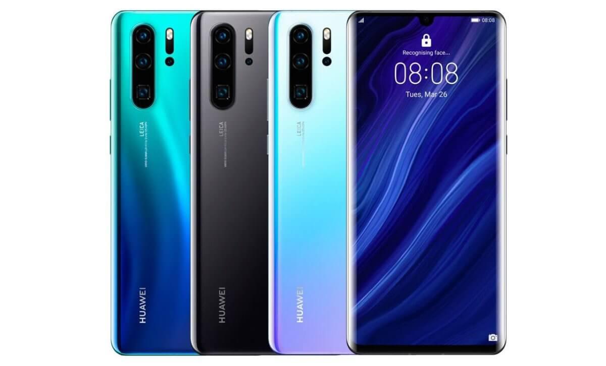 Huawei P30 Pro barvy