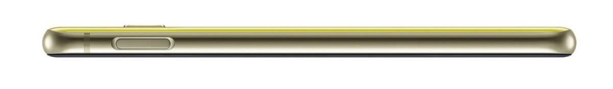 Samsung Galaxy S10e z boku