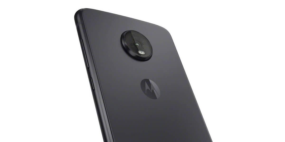 Motorola Moto Z4 detail